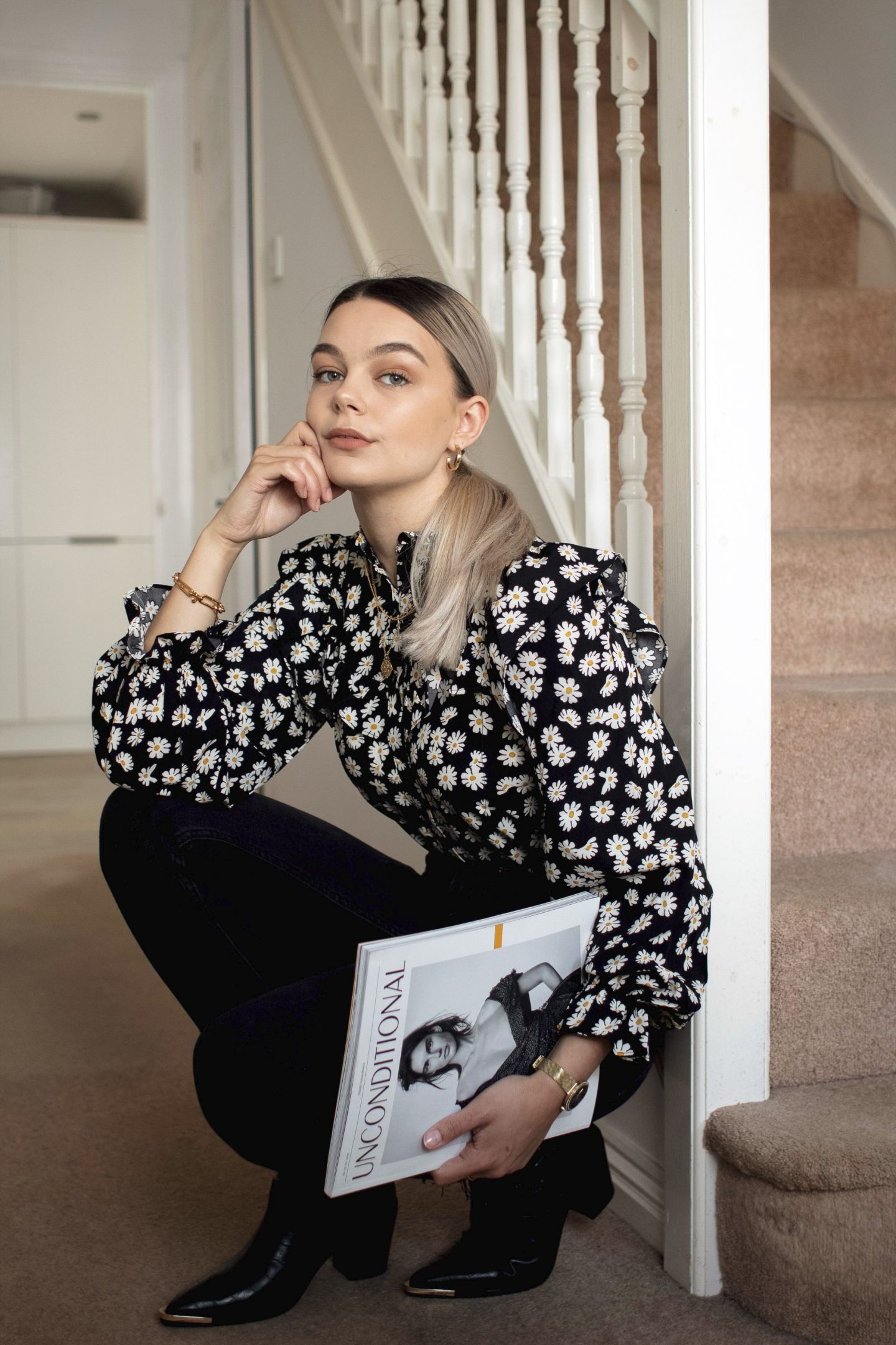 You need to get this floral blouse from Loavies in your wardrobe *NOW*