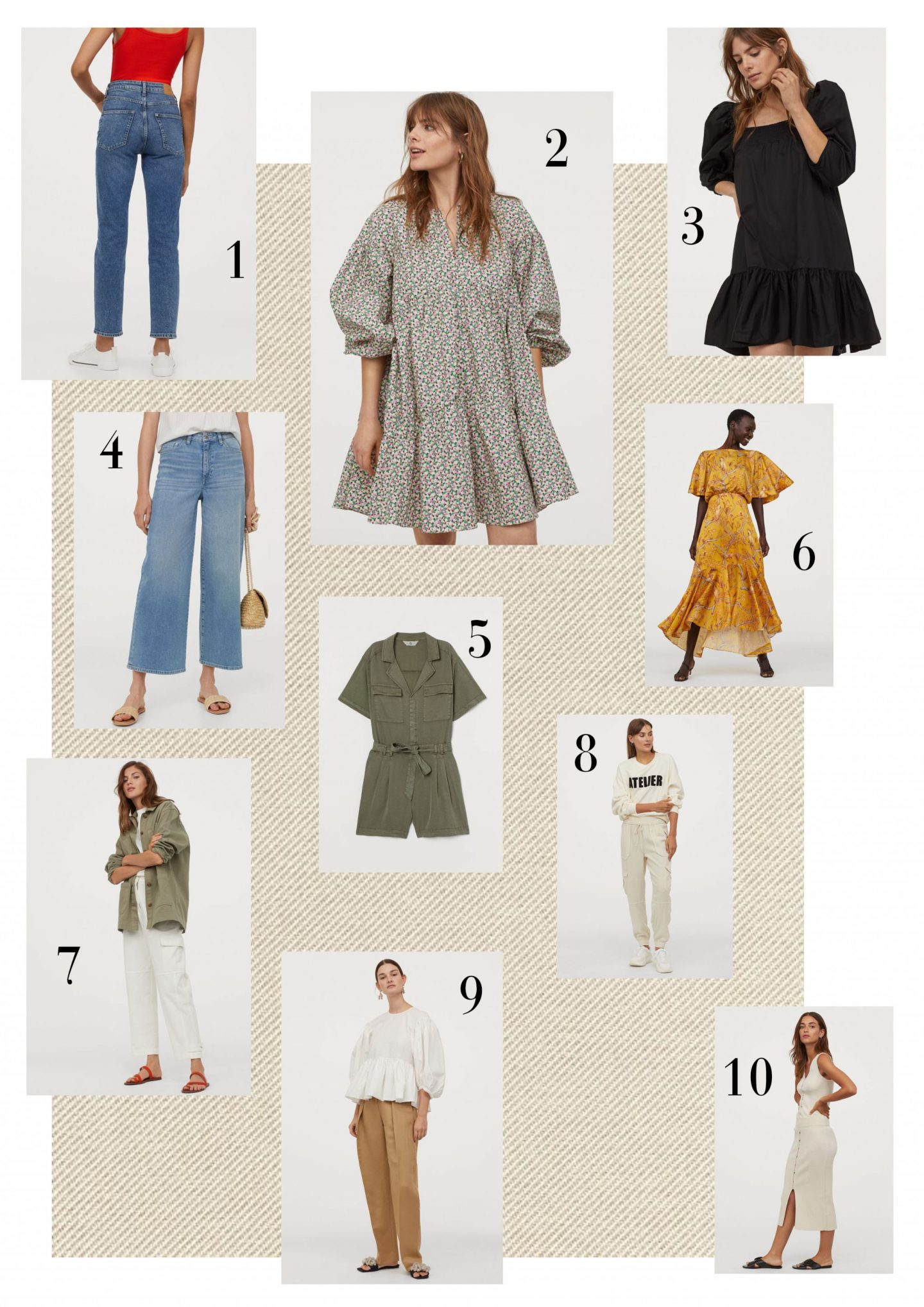 Did you know the H&M Conscious Collection is online and in store? Here are some of my picks from it...