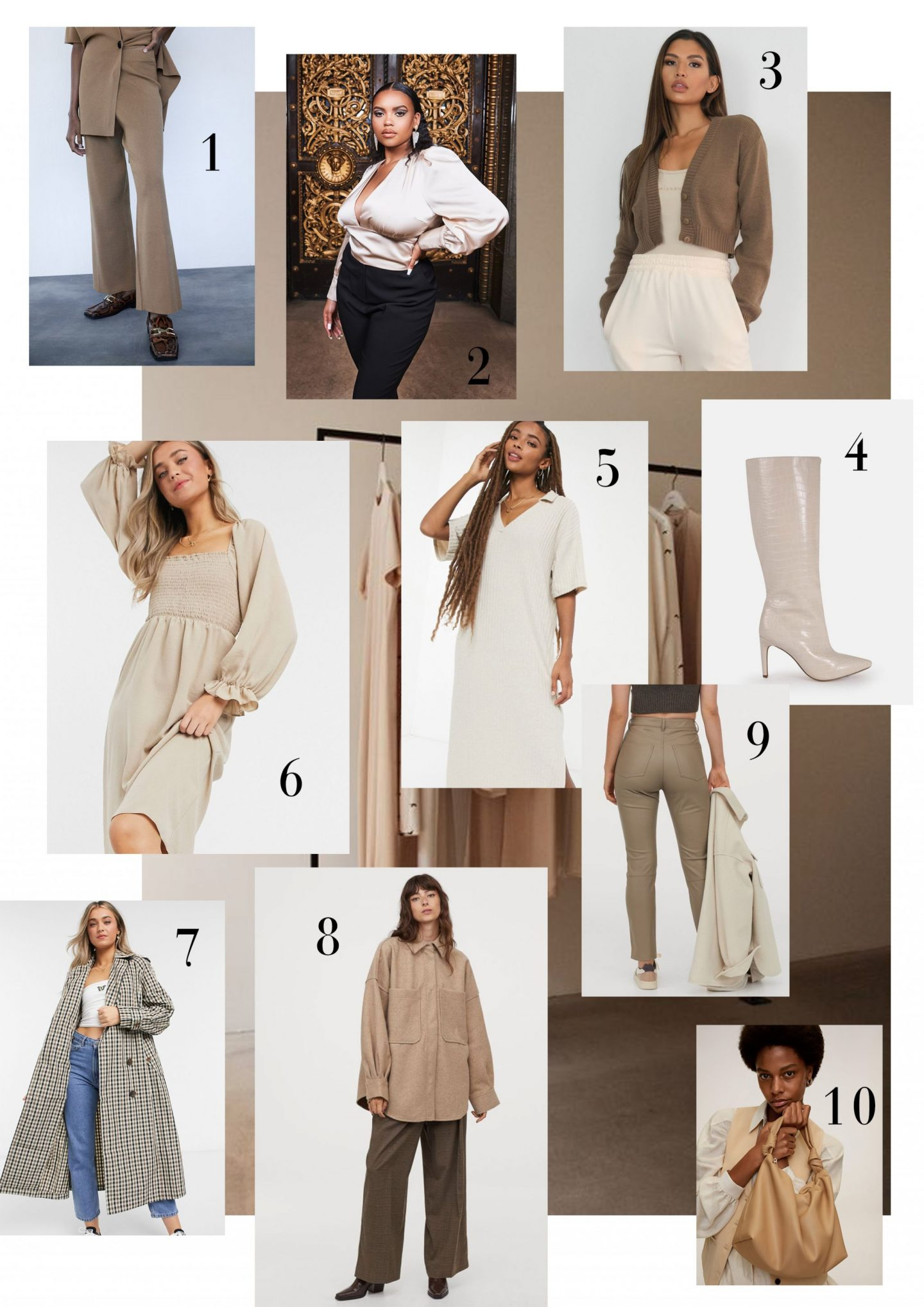 Here are the pieces you need to be a neutrals queen!