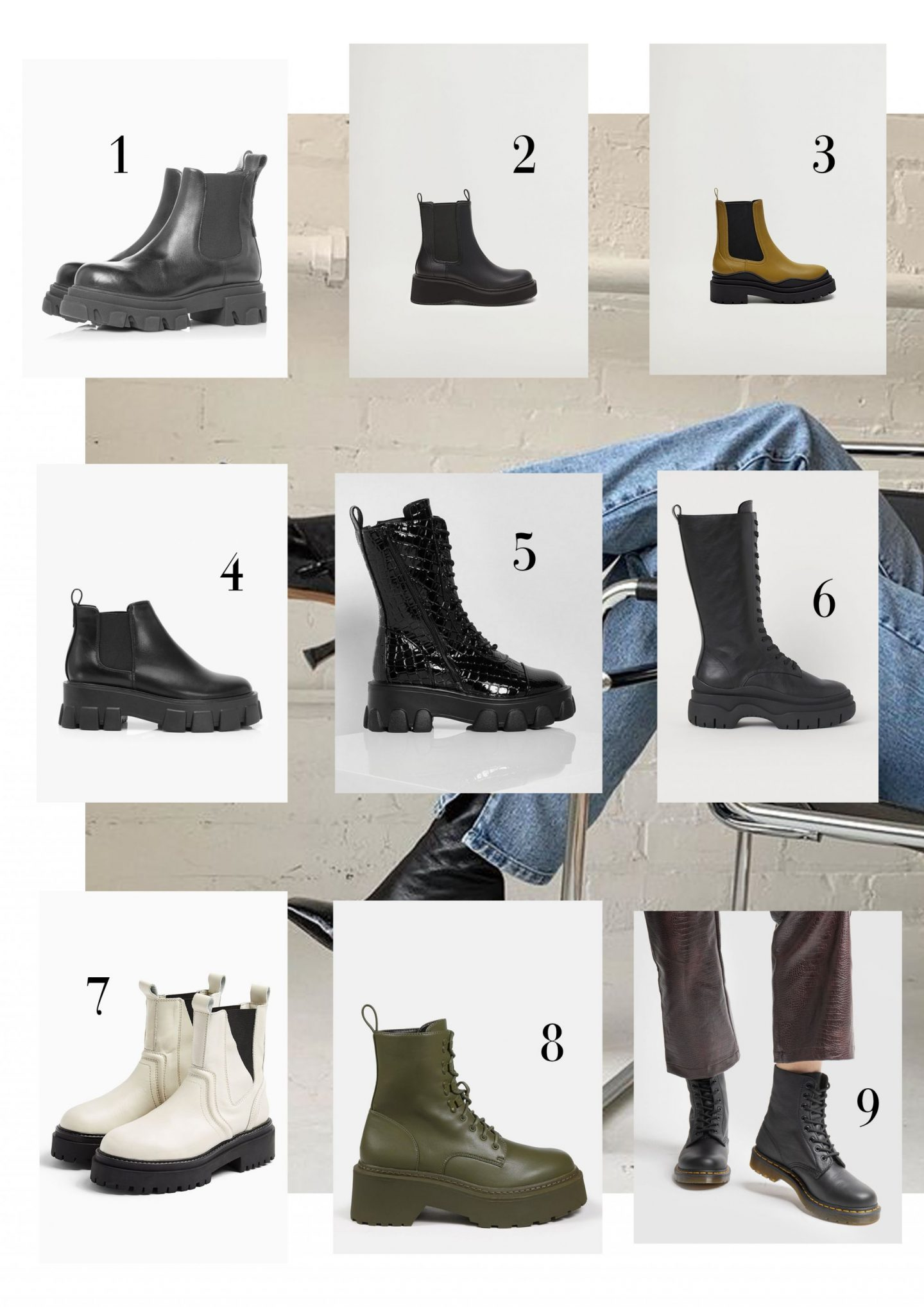 It's chunky boots season baby, and here are the best ones on offer!