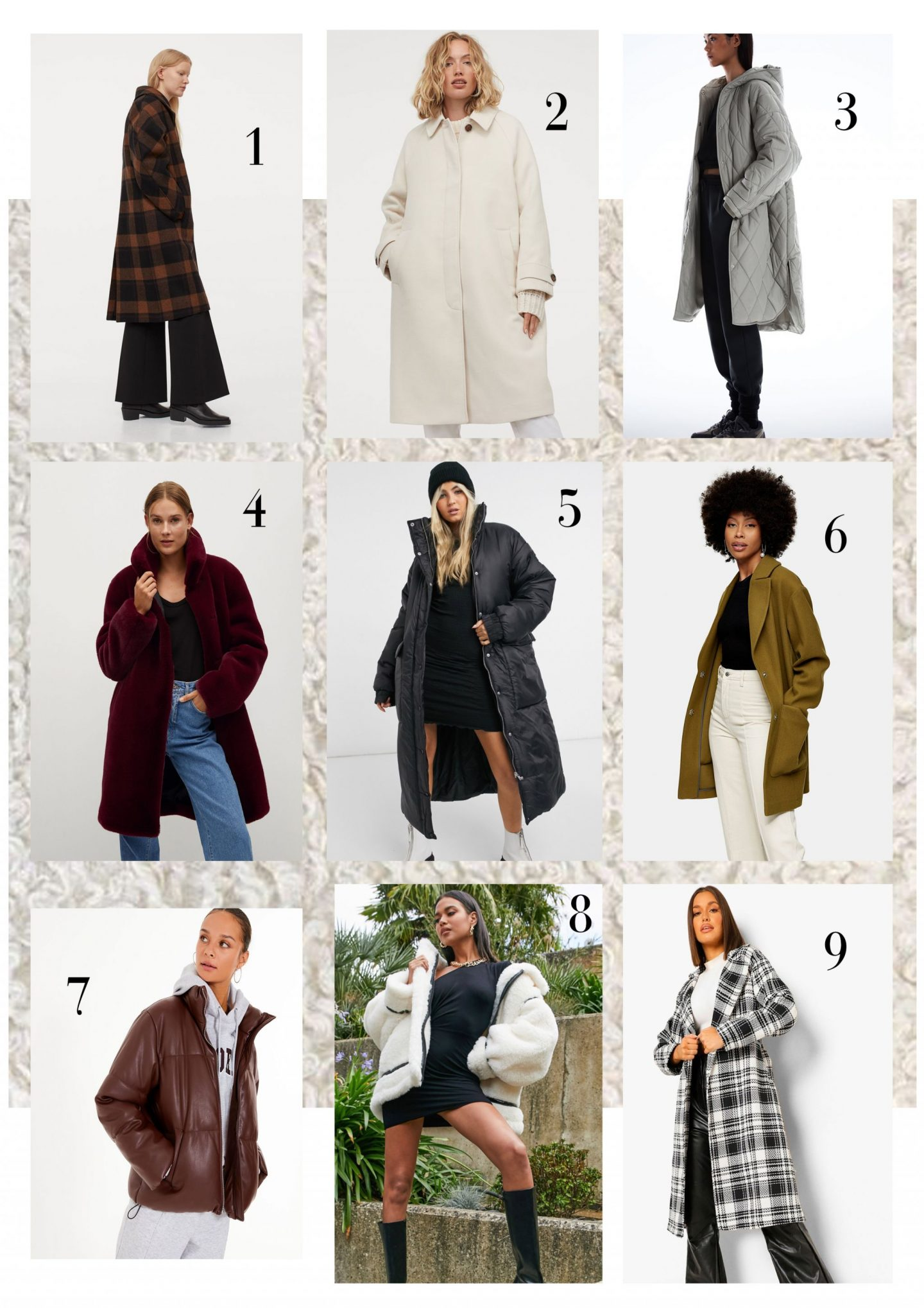 I like to think winter coats are my forte so here are some that will keep you warm this winter...
