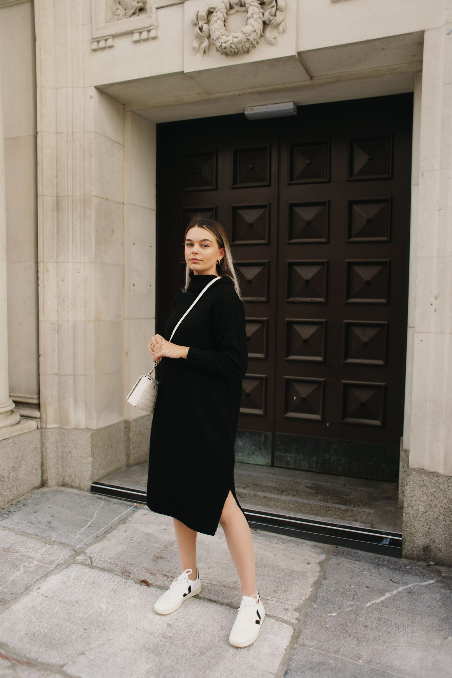 The black high neck knitted dress I should have blogged about sooner because it's such a staple in my wardrobe...