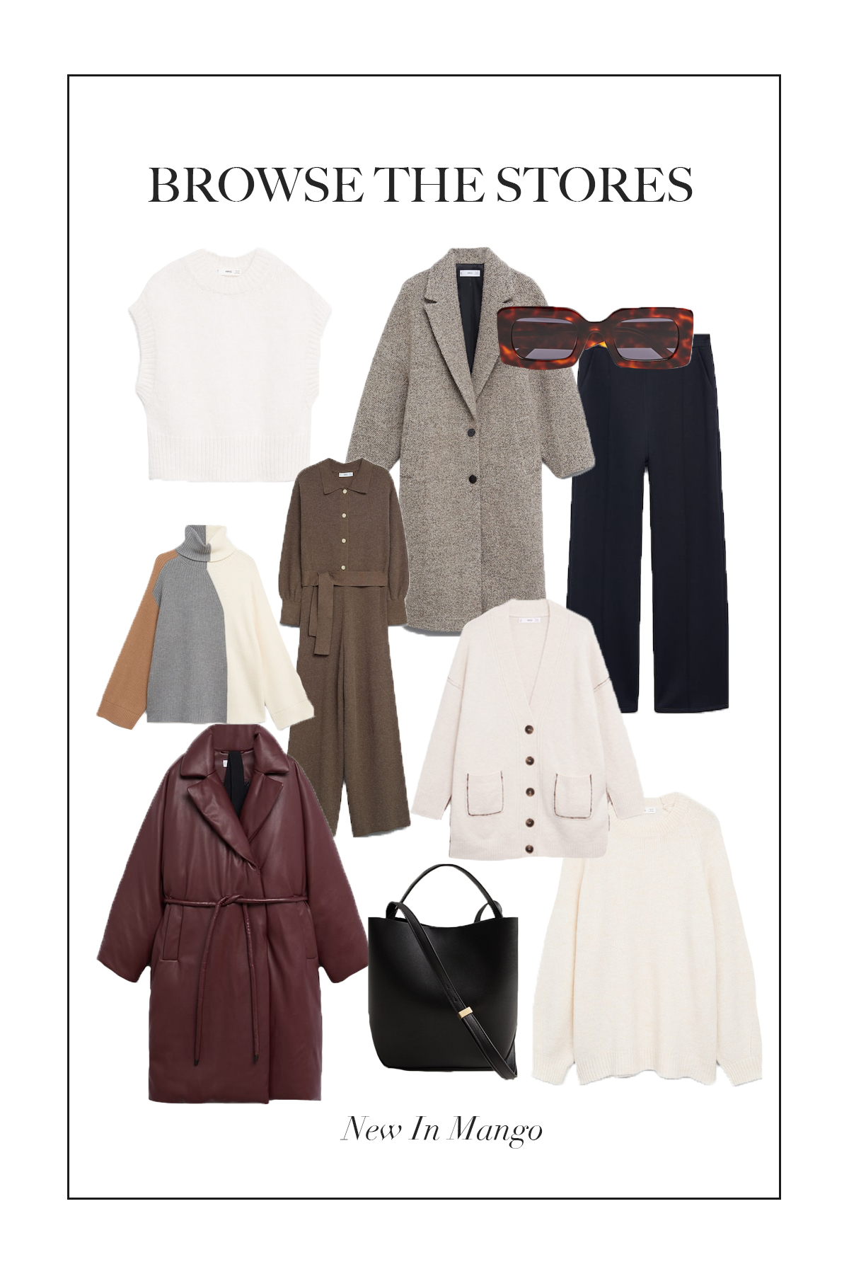 Mango has some gorgeous pieces new in right now so here are some you might need in your wardrobe...