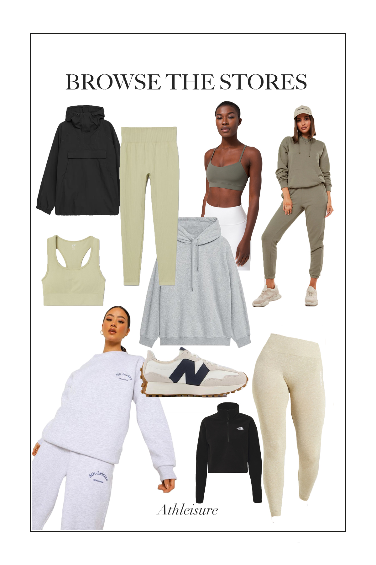 If you are looking for comfy workout clothes which you can style easily for every day use here are my top athleisure picks current available...