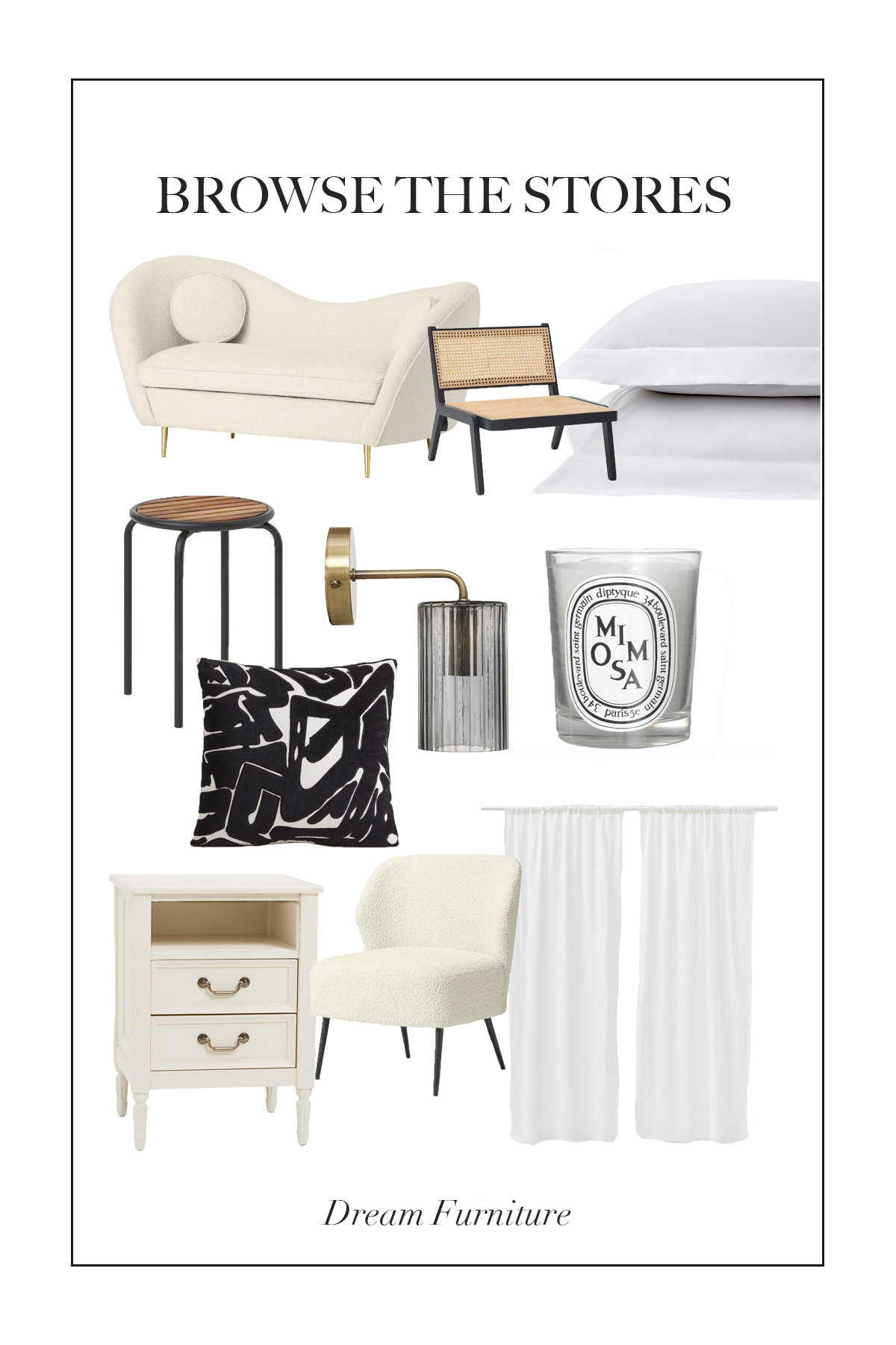 This week we are looking at all the dream furniture which I wish I could fill my dream apartment with...