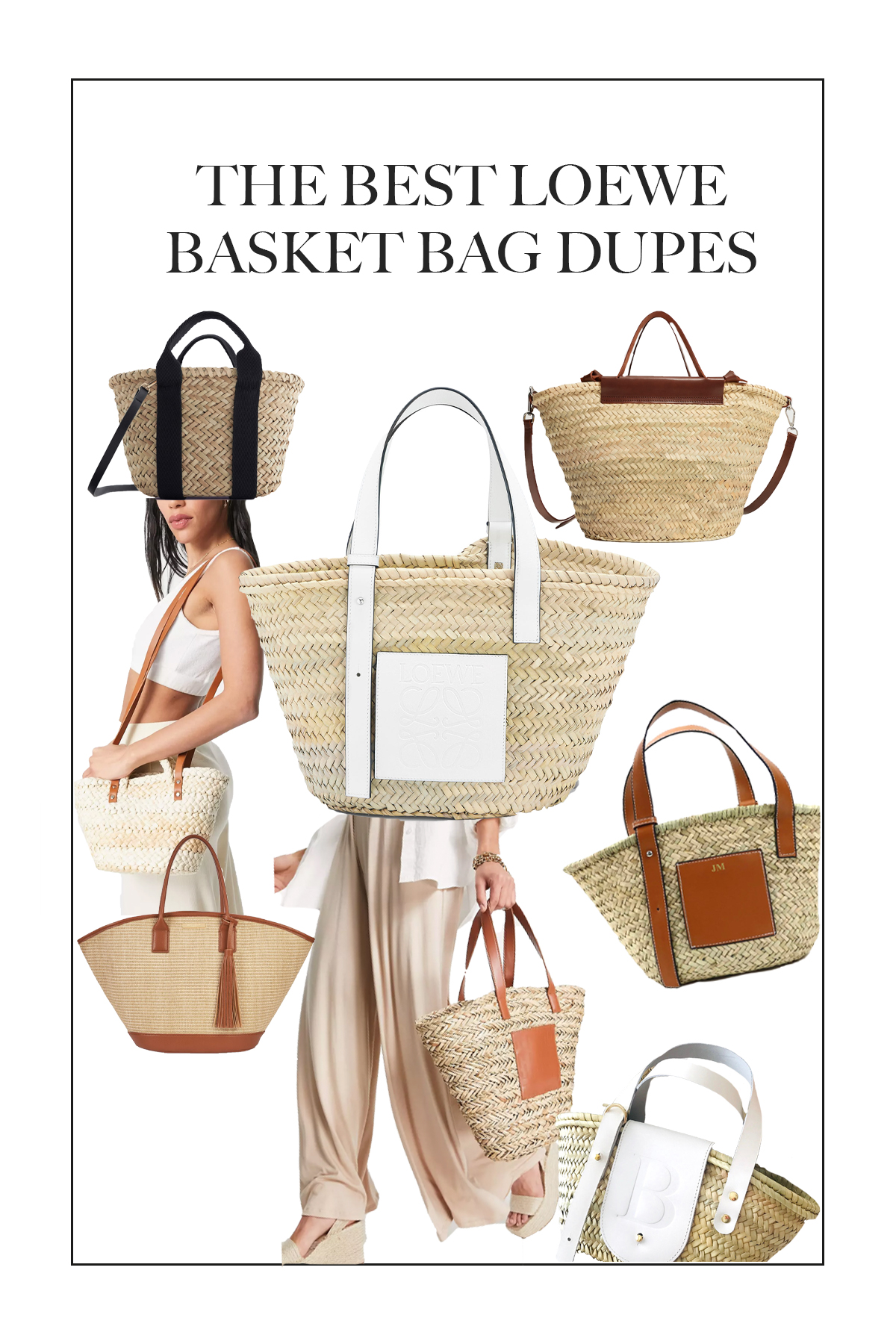 I have searched high and low and these are the best Loewe Basket Bag Dupes!