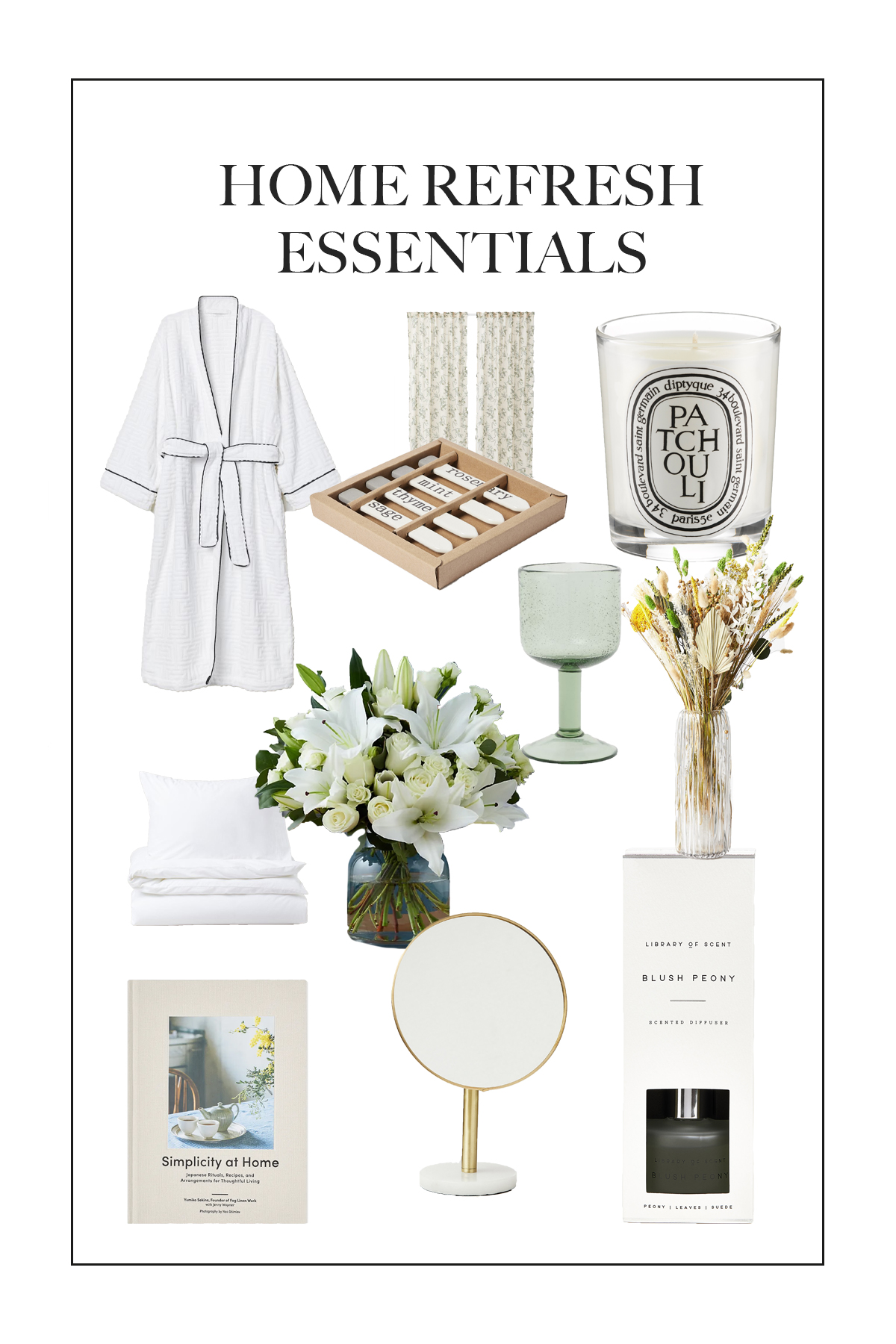 Some home refresh essentials to consider this summer when thinking about having a change...
