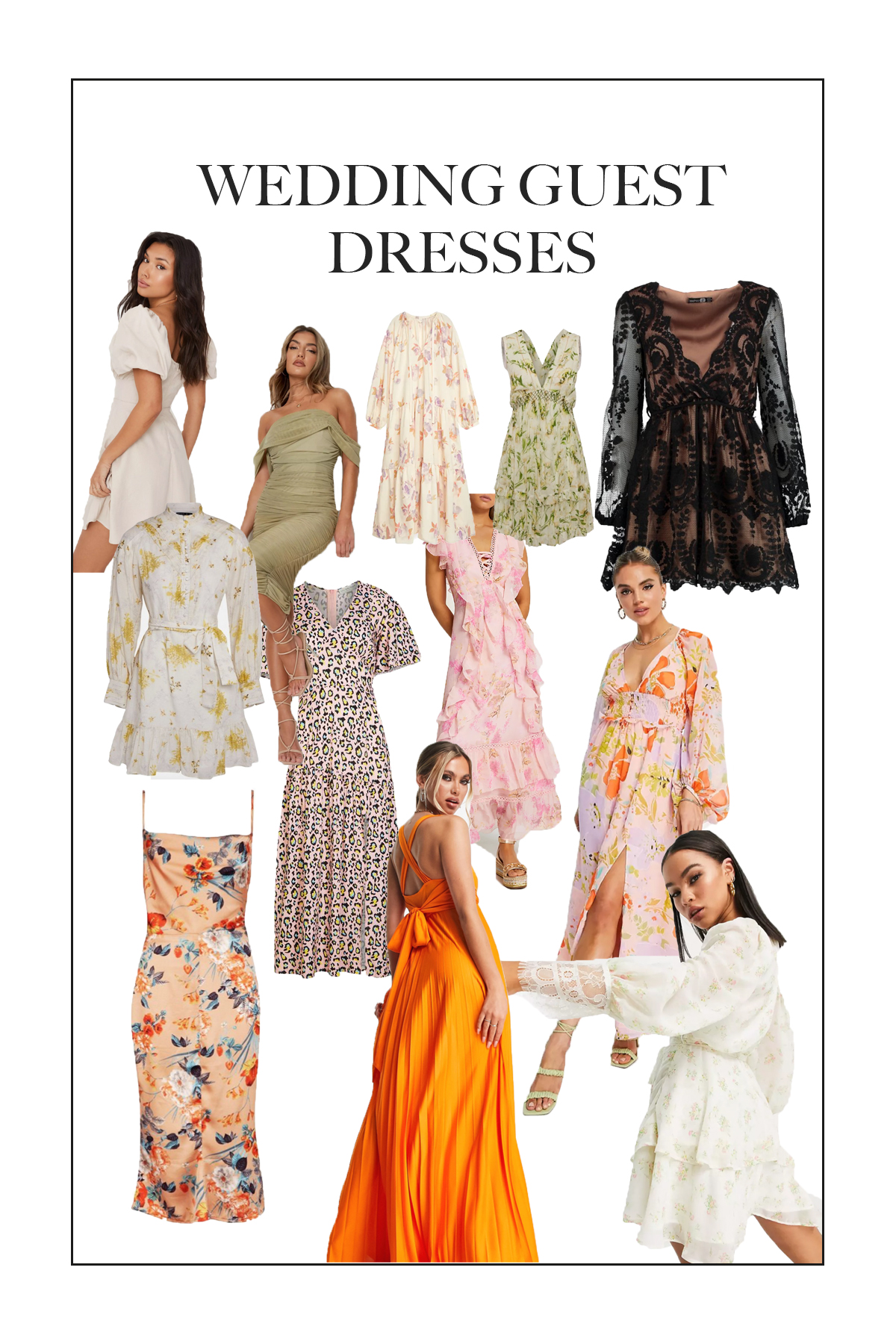 Wedding Season is upon us so here are some gorgeous wedding guest dresses that you could wear to someone's special day!